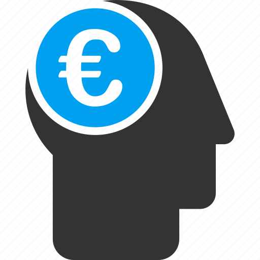 brain, business man, businessman, euro, european, idea, mind icon