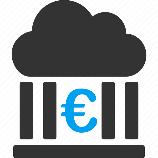bank, business, euro, european, finance, financial, money icon
