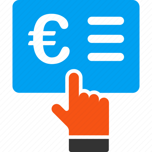 check, contract, euro, european, form, invoice, order icon