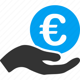 business, euro, european, finance, money, payment, salary icon