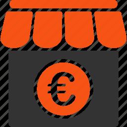 euro, european, market, shop, shopping, store, supermarket icon