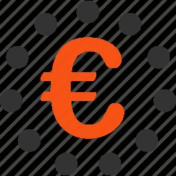 eu zone, euro, european, finance, financial, money, union icon