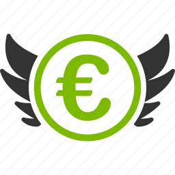 angel investor, euro, european, invest, investment, venture, venture capital icon