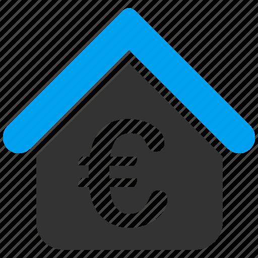 estate, euro, european, finance, mortgage, real estate, rent icon