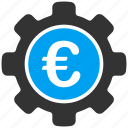 control, euro, european, finance, preferences, settings, tools icon