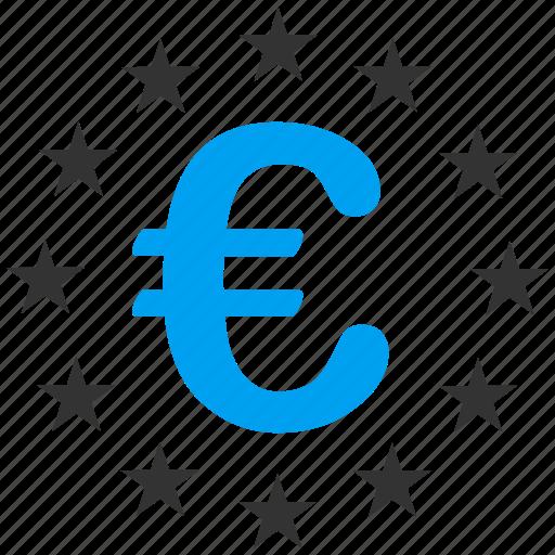 business, eu zone, euro, europe, european union, star circle, stars icon