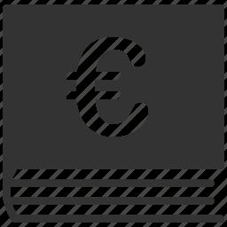 bookkeeping, business, euro, european icon