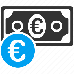 business, cash, euro, european, money, shopping icon
