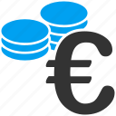 business, coins, euro, european