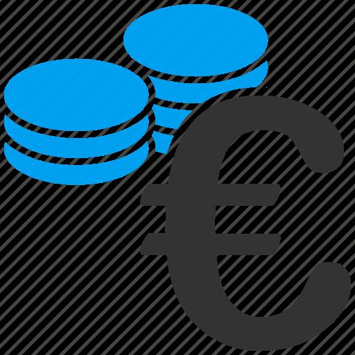 business, coins, euro, european icon