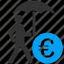 care, euro, financial insurance, protection, safety, security, umbrella