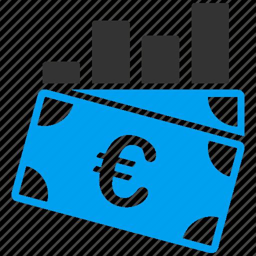 business, chart, euro, european, report, sales icon