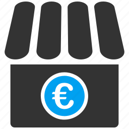 business, euro, european, shop, store icon