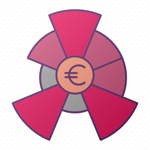 analytics, chart, diagram, euro, graph, seo icon