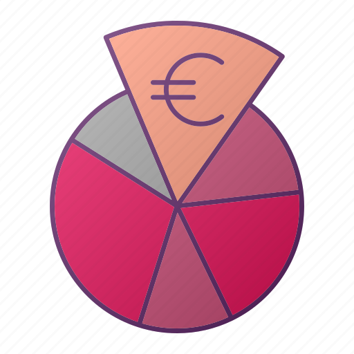 analytics, chart, euro, graph, money, seo icon
