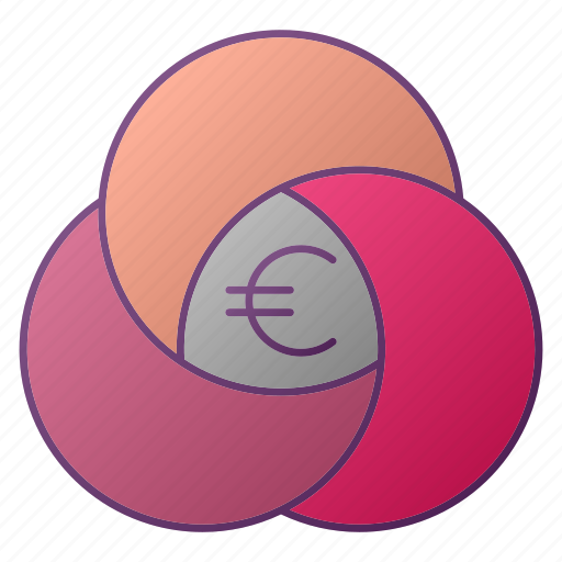 analytics, chart, euro, graph, seo icon