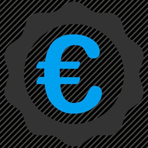 achievement, award, business, euro, european, seal, stamp icon