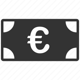 banknote, business, cash, euro, european, money, payment icon