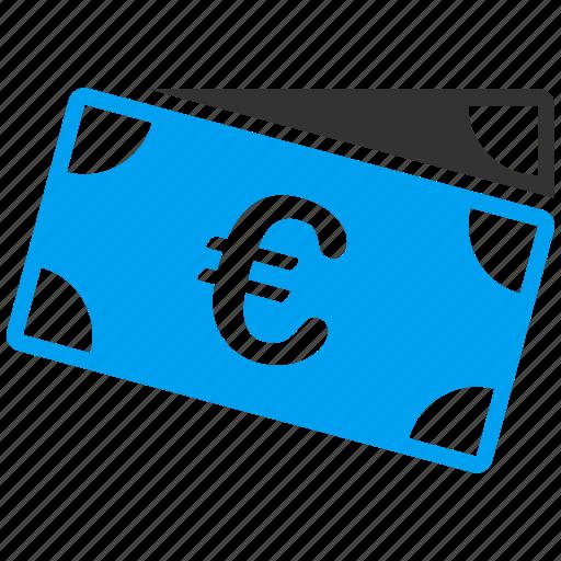 banknotes, business, euro, european, finance, financial, shopping icon