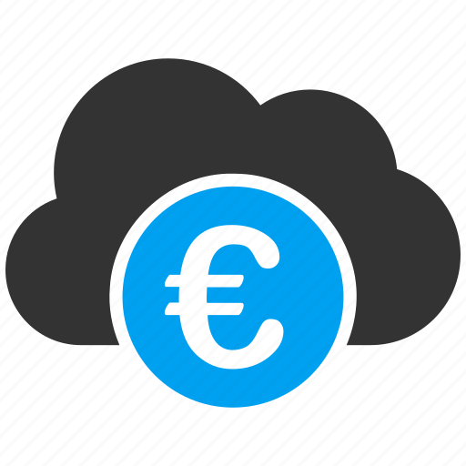 banking, business, cloud, currency, euro, european, money icon