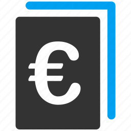 balance, book, business, document, euro, european, money icon