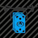 banking, business, drone, euro, european, quadcopter, shopping icon