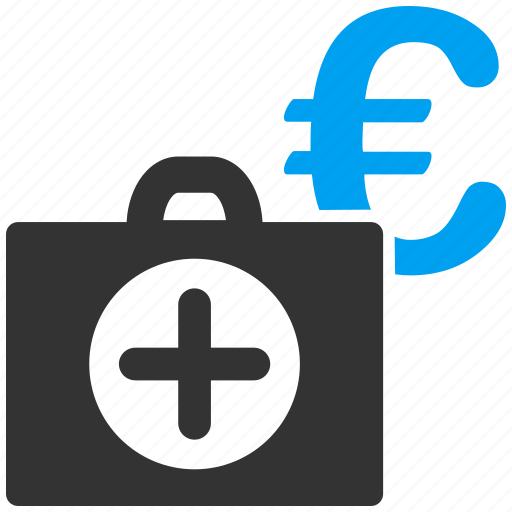 business, euro, european, insurance, medical, medicine, payment icon