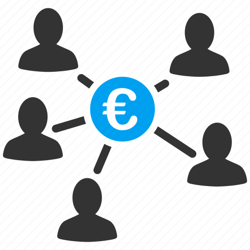 bank network, business, euro, european, payment, payments, teamwork icon