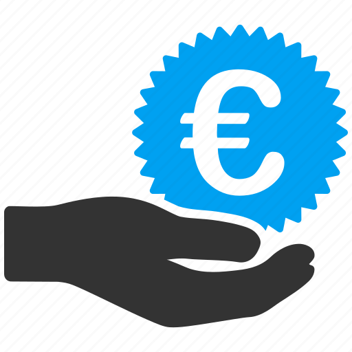 business, euro, european, gift, prize, salary, shopping icon