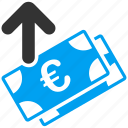 business, euro, european, pay, payment, shopping, spend money icon