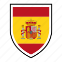 country, europe, flag, identity, nation, spain, world icon