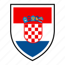 country, croatia, europe, flag, identity, nation, world icon