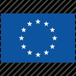 europa, europe, flag icon