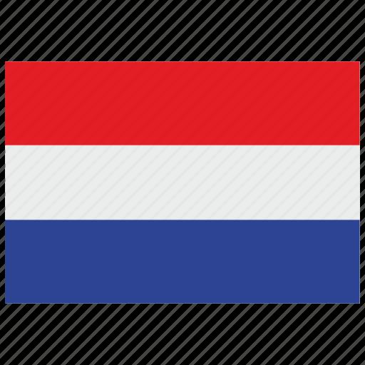 europe, flag, holland icon