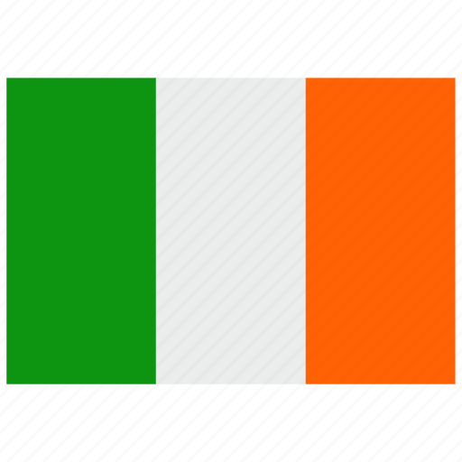 europe, flag, ireland icon