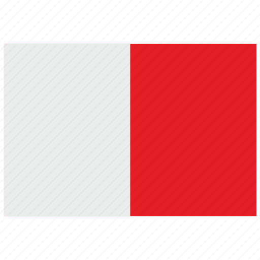 europe, flag, malta icon