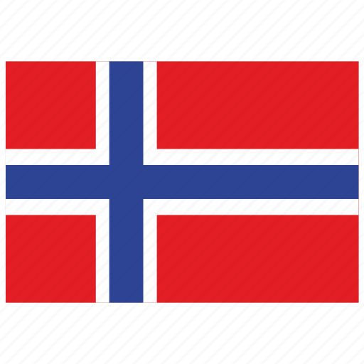 europe, flag, norway icon