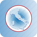 capital, country, europa, europe, italy, map, maps icon