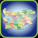 bulgarien, country, europa, europe, map, maps, regions icon