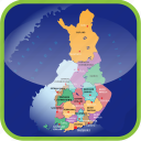 country, europa, europe, finland, map, maps, regions icon