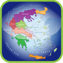 country, europa, europe, greece, map, maps, regions icon