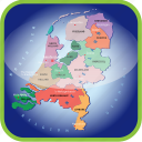 country, europa, europe, map, maps, netherland, regions icon