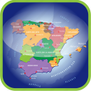 country, europa, europe, map, maps, regions, spain icon