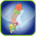 country, europa, europe, map, maps, regions, sweden icon