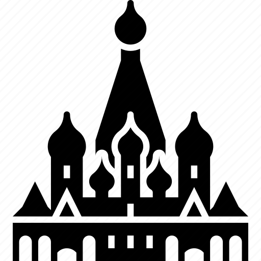 Cathedral, landmark, moscow, russia, saint basil's, tourism, travel icon - Download on Iconfinder