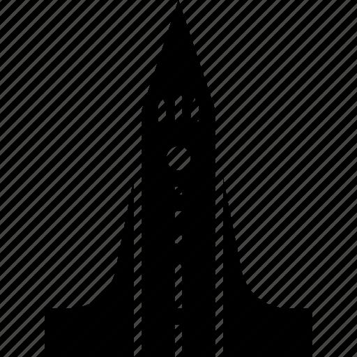 Church, hallgrimskirkja, iceland, landmark, reykjavik icon - Download on Iconfinder