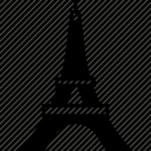 eiffel tower, france, landmark, paris, tourism, travel icon