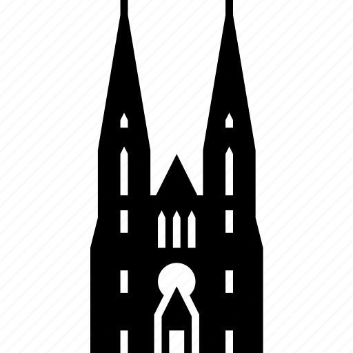 Cathedral, church, croatia, landmark, temple, zagreb icon - Download on Iconfinder