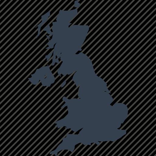 Britain England Map.Britain England Europe Great Kingdom Map United Icon