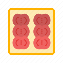 ajotomate, dish, food, fresh, lunch, salad, tomato icon